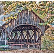 Sunday River Covered Bridge Poster