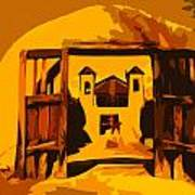 Sundown Chimayo Poster