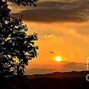 Sundown In Ellijay Poster
