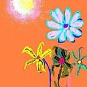 Sunflowered 3 Poster