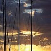 Sunlight - Ile De La Reunion Poster by Francoise Leandre