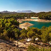 Sunny Day In El Chorro. Spain Poster