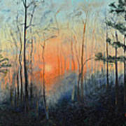 Sunrise At Pike Road Poster