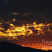 Sunrise Burning Poster
