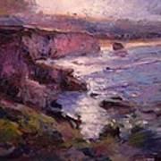 Sunrise On Pismo Beach Ca Poster
