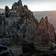 Sunrise Over Cappadocia Poster