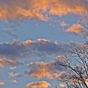 Sunset Cloud Colors 6 Poster