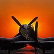 Sunset Corsair Poster