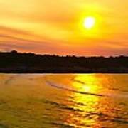 Sunset Glow Poster