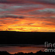 Sunset Over Seneca Lake Poster