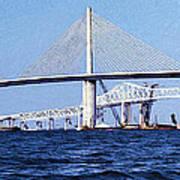 Sunshine Skyway Bridge II Poster