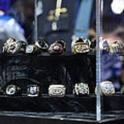 Super Bowl Rings  Poster