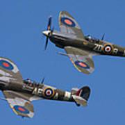 Supermarine Spitfires Poster