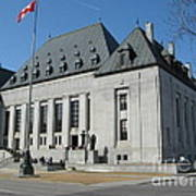 Supreme Court Of Canada Poster
