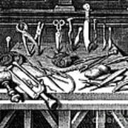 Surgical Equipment, 16th Century Poster