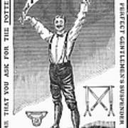 Suspenders, 1888 Poster by Granger