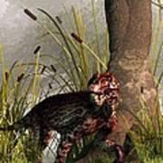 Swamp Lycaenops Poster