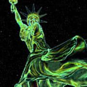 Sweat Liberty Poster