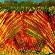 Sweeping Fields Poster
