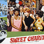 Sweet Charity, Paula Kelly, Shirley Poster by Everett