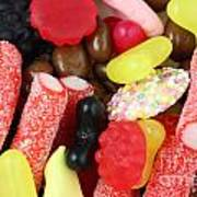 Sweets And Candy Mix Poster