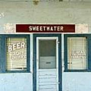 Sweetwater Store Poster by Jeff Lowe