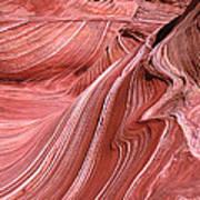 Swirling Sandstone Poster