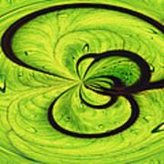 Elephant Ear Leaf Poster