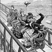 Switchback Railway, 1886 Poster