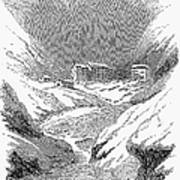 Switzerland: Convent, 1843 Poster