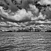 Sydney-black And White Poster