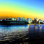 Sydney In Color Poster