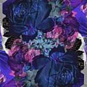 Symetry Rose Garden Poster