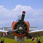 T-28 Nose Poster