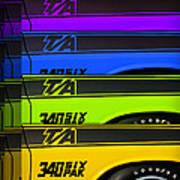 T/a 340 Six Pak Poster