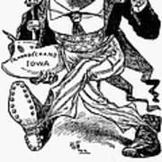T. Roosevelt Cartoon, 1903 Poster