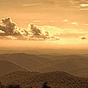 Taconic Sunset Poster
