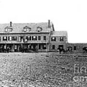 Taft's Hotel 1830 Poster by Extrospection Art