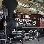 Tahoe Steam Locomotive Poster