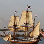Tall Ship Four Poster