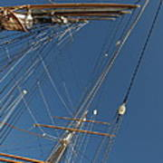 Tall Ship Rigging 1 Poster