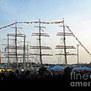 Tall Ships 2009. Klaipeda. Lithuania Poster