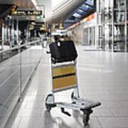 Tallinn Airport In Estonia Poster