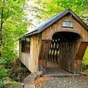Tannery Hill Covered Bridge Poster