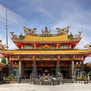 Taoist Temple Poster