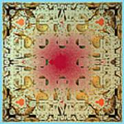 Tapestry Mandelbrot Poster