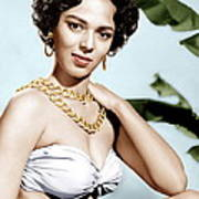 Tarzans Peril, Dorothy Dandridge, 1951 Poster