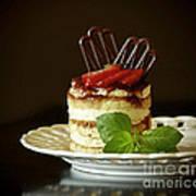 Taste Of Italy Tiramisu Poster