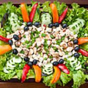 Tasty Chicken Salad Poster