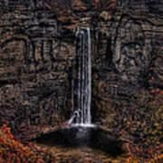 Taughannok Falls II - Hdr Poster